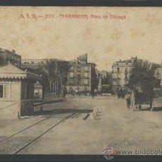 Postales: TARRAGONA - ATV - 2174 - PLAZA DE OLOZAGA - (10.049). Lote 31773667