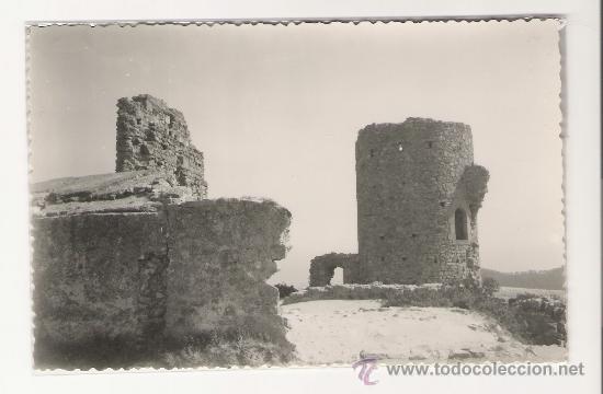 ARGENTONA.-CASTILLO DE BURRIACH.-FOTO GUELL (Postales - España - Cataluña Moderna (desde 1940))