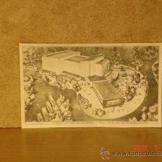 Postales: LOTE DE 4 POSTALES DE 1956 DEL PROYECTO DE GRAN TEATRO DE