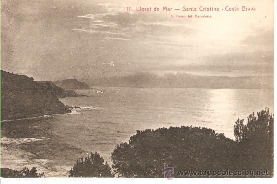 11. LLORET DE MAR -SANTA CRISTINA - COSTA BRAVA (Postales - España - Cataluña Antigua (hasta 1939))