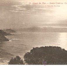 Postales: 11. LLORET DE MAR -SANTA CRISTINA - COSTA BRAVA . Lote 31832675