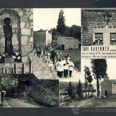 Postales: POSTAL D' ARGENTONA: SANT BARTOMEU, PARROQUIA D' ORRIUS: 5 VISTES (FOTO GÜELL). Lote 31849257