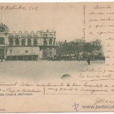 Postales: BARCELONA.- PASEO DE GRACIA (ENTRADA). (C.1900).. Lote 31885600