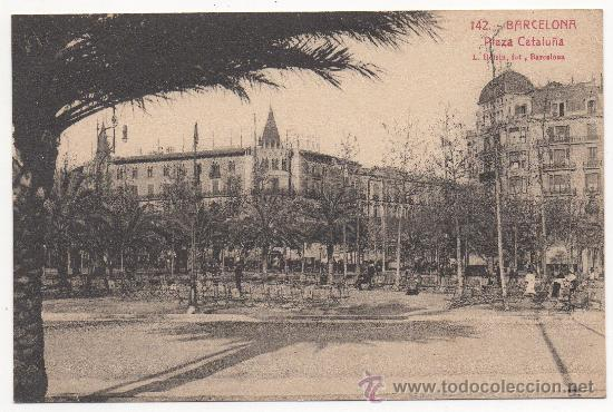 BARCELONA.- PLAZA CATALUÑA. (Postales - España - Cataluña Antigua (hasta 1939))