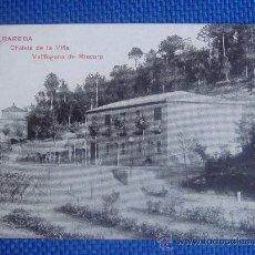 Postales: VALLFOGONA DE RIUCORB, TARRAGONA, CHALETS DE LA VIÑA, VDA. ALBAREDA, NO CIRCULADA. Lote 31925512