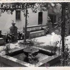 Postales: FOTOGRÁFICA DE LA RIBA, TARRAGONA, PL. DEL TORRES, 1955. Lote 31984732
