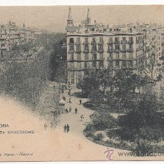 Postales: BARCELONA.- PLAZA UNIVERSIDAD.. Lote 32011750