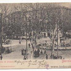 Postales: BARCELONA.- PLAZA DE PALACIO.. Lote 32096771