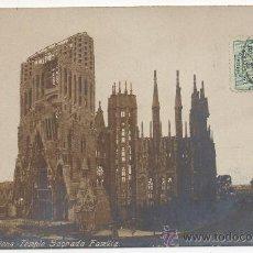 Postales: BARCELONA.- TEMPLO SAGRADA FAMILIA.. Lote 32105082
