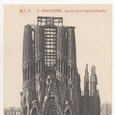 Postales: BARCELONA.- IGLESIA DE LA SAGRADA FAMILIA.. Lote 32105889