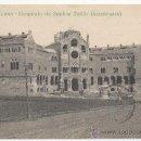 Postales: BARCELONO.- HOSPITALO DE SANKTA PAÛLO (KONSTRUATA). POSTA-KARTO V.ª KONGRESO DE ESPERANTO 1909.. Lote 32117550