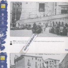 Postales: BERGA.LOTE DE 38 POSTALES ANTIGUAS.EDITADAS EN EL AÑO 2000. . Lote 32143327