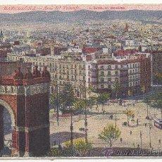 Postales: BARCELONA.- ARCO DEL TRIUNFO.. Lote 32145274