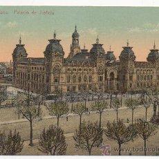 Postales: BARCELONA.- PALACIO DE JUSTICIA.. Lote 32185385
