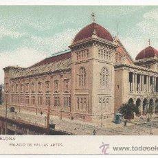 Postales: BARCELONA.- PALACIO DE BELLAS ARTES. (C.1910).. Lote 32189834