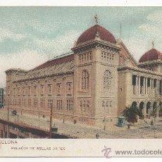 Postales: BARCELONA.- PALACIO DE BELLAS ARTES. (C.1910).. Lote 32189879