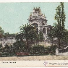 Postales: BARCELONA.- PARQUE. CASCADA.. Lote 32233008