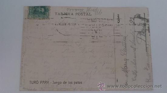 Postales: TURÓ PARK, BARCELONA, JUEGO DE LOS PATOS, 1914 - Foto 2 - 32307729