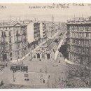 Postales: BARCELONA.- APEADERO DEL PASEO DE GRACIA.. Lote 32364060