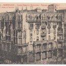 Postales: BARCELONA.- CASAS PALACIOS MODERNOS, PASEO DE GRACIA NÚM. 132, ARQUITECTO: L. DOMENECH MONTANER. . Lote 32397886