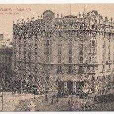 Postales: BARCELONA.- HOTEL RITZ.. Lote 32413217