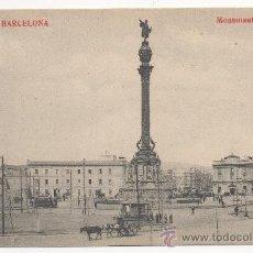Postales: BARCELONA.- MONUMENTO A COLÓN.. Lote 32455765