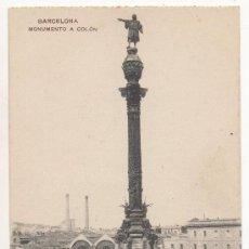Postales: BARCELONA.- MONUMENTO A COLÓN.. Lote 32468503