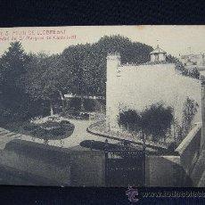 Postales: POSTAL 11. BARCELONA. S. FELIU DE LLOBREGAT. PROPIEDAD DEL SR. MARQUES DE CASTELLVELL. FOT. ROISIN.. Lote 32471402