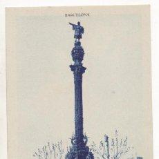 Postales: BARCELONA.- MONUMENTO A COLÓN.. Lote 32477105
