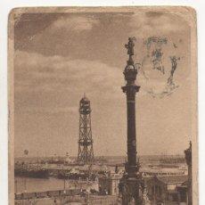 Postales: BARCELONA.- MONUMENT A COLOM.- MONUMENTO A COLÓN. (C.1925).. Lote 32478181