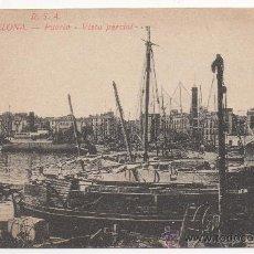 Postales: BARCELONA.- PUERTO.- VISTA PARCIAL.. Lote 32491212
