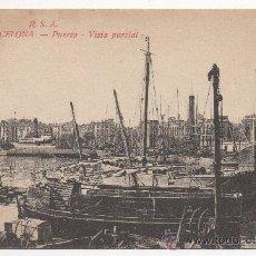 Postales: BARCELONA.- PUERTO.- VISTA PARCIAL.. Lote 32491273
