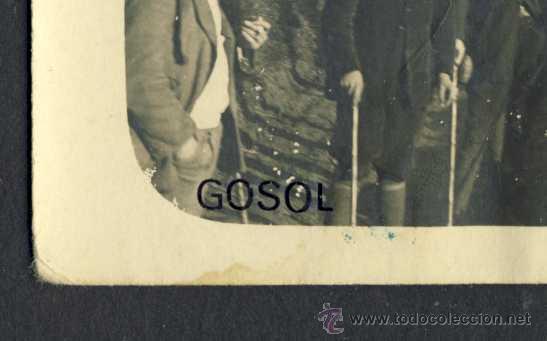 Postales: Postal de GÒSOL: Excursionistes (veure foto adicional) - Foto 2 - 32502971