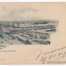 Postales: BARCELONA.- VISTA DESDE MIRAMAR. (C.1900).. Lote 32518597