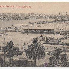 Postales: BARCELONA.- VISTA PARCIAL DEL PUERTO. (C.1905).- EDITOR DESCONOCIDO, Nº 128.. Lote 32520633