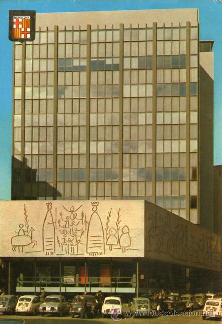 barcelona - 1176 sede colegio de arquitectos - Comprar Postales de ...