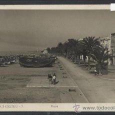 Postales: VILLANUEVA Y GELTRU - 7 - PLAYA - -GRAFICAS GULIARA - CIRCULADA -(10.962). Lote 32547736
