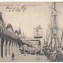 Postales: BARCELONA.- VISTA PARCIAL DEL MUELLE. (C.1910).. Lote 32548970