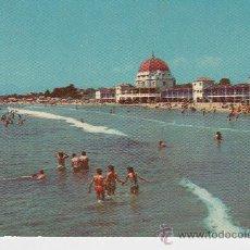 Postales: SALOU - PLAYA HOTEL - RESTAURANTE- BALNEARIO - LA TERRAZA. Lote 32581253