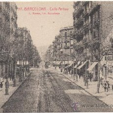 Postales: BARCELONA.- CALLE ARIBAU.. Lote 32589726