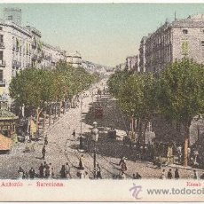 Postales: BARCELONA.- RONDA DE SAN ANTONIO.. Lote 32590548