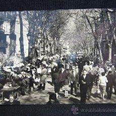 Postales: POSTAL BARCELONA. RAMBLA DE LAS FLORES. EXCLUSIVAS BEASCOA.. Lote 32632445