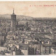 Postales: BARCELONA.- VISTA PARCIAL.. Lote 32639455