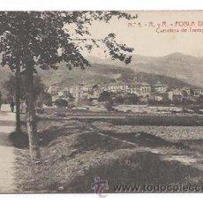 Postales: Nº 5. R. Y R. POBLA DE SEGUR. CARRETERA DE TREMP. (ED. THOMAS. ODROG.). Lote 32756177