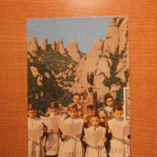 Postales: POSTAL MONTSERRAT LOAS ESCOLANES CIRCULADA. Lote 32669871