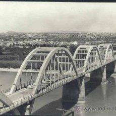 Postales: MORA LA NUEVA (TARRAGONA).- PUENTE SOBRE EL RIO EBRO.. Lote 32695345