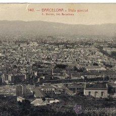 Postales: ANTIGUA POSTAL ROISIN Nº 140, BARCELONA, VISTA PARCIAL. Lote 32700149