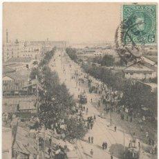 Postales: BARCELONA.- CALLE DEL MARQUÉS DEL DUERO (EL PARALELO). (C.1905).. Lote 32714896