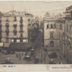 Postales: BARCELONA.- CALLE JAIME Iº. (C.1920).. Lote 32726931
