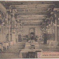 Postales: BARCELONA.- TIBIDABO, (ALT. 532 M.). SALÓN DEL GRAN RESTAURANT.. Lote 32784975